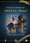 Pre shutdown planning with Midas Meter